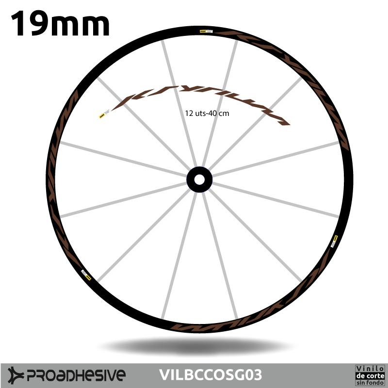 Pegatinas personalizadas para bicicletas - proadhesive.com
